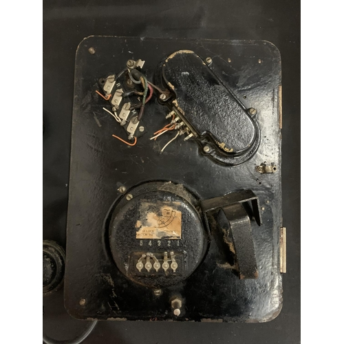 5 - A VINTAGE ERICSSON MINERS PIT TELEPHONE