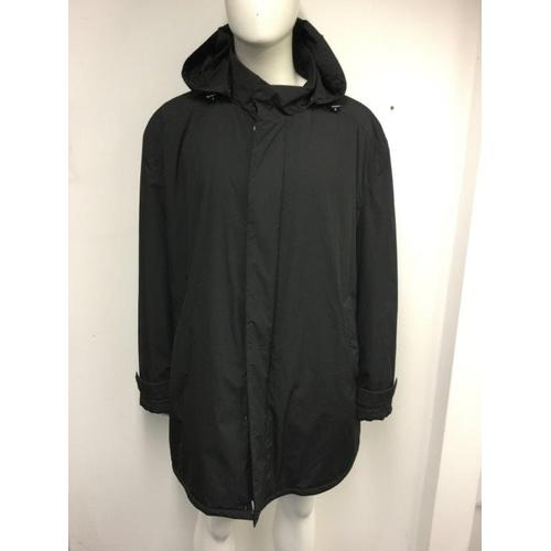 1 - PAUL & SHARK - a gents navy blue waterproof coat, size 3xl...