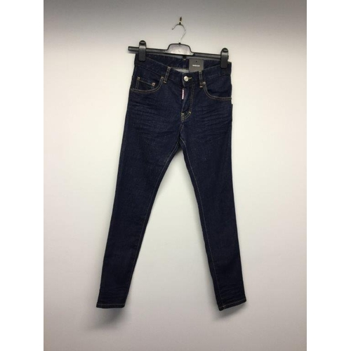 29 - DSQUARED - a pair of ladies blue jeans, size 32...