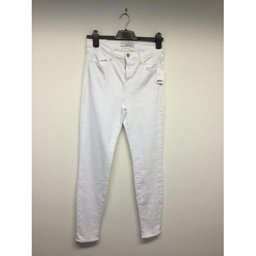 36 - J BRAND - a pair of ladies white jeans, size 29...