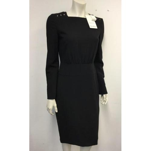 37 - MAXMARA - a ladies black dress, size 10...
