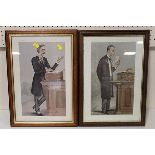 11 - TWO VANITY FAIR SPY PRINTS ENTITLED 'A CHIEF SECRETARY' AND 'THE COLONIES'