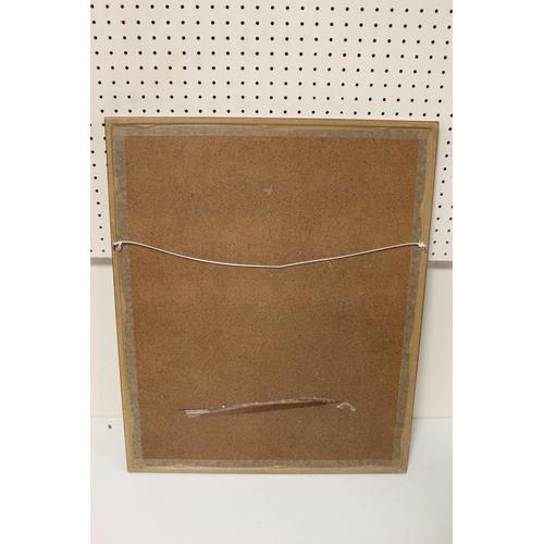 56 - A FRAMED AND GLAZED SIGNED JAMES PRIDDEY PRINT ENTITLED TULIPS' 33CM BY 42 CM