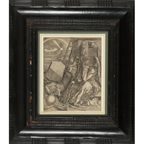 13 - HIERONYMUS-JÉRÔME WIERIX (1553 - 1619)  Melencolia I, 1602 (Mauquoy-Hendricx 1556; Alvin 1576; Koehl...