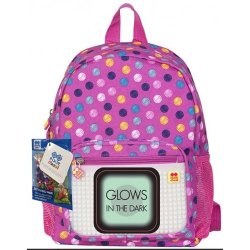 11 - Pixie Crew: Small Pink Backpack. RRP £29.60...