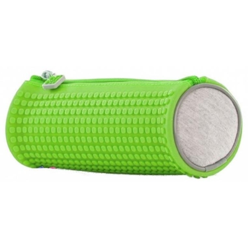 26 - Pixie Crew: Green Rounded Pencil Case With 100 Pixies. RRP £14.16...