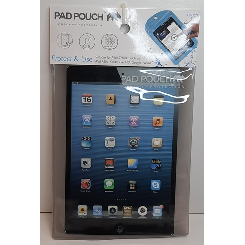 3 - X 6 Pads Pouch Outdoor Protection For Mini Tablets, Ipad, Kindle, &... RRP £12.99 EACH...