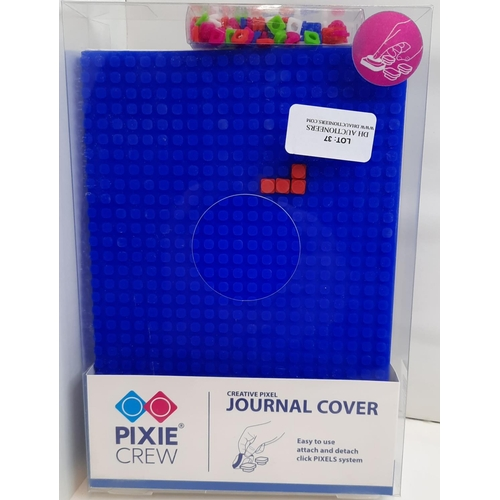 37 - Pixie Crew: A5 Blue Creative Journal Cover. RRP £19.95