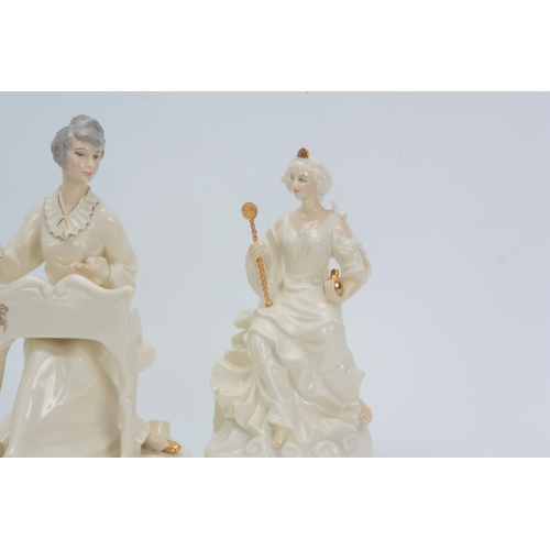 93 - A COLLECTION OF 4 ROYAL DOULTON FIGURES FROM THE ENCHANTMENT COLLECTION including