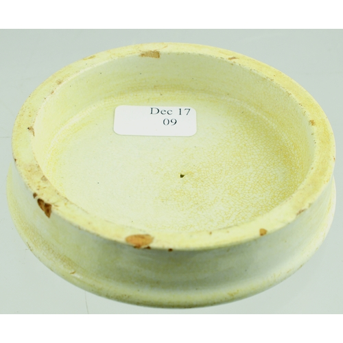 523 - BRIGHTON COLD CREAM POT LID. (APL p 593, 56) 2.75ins diam. As previous lot - this being the large va...