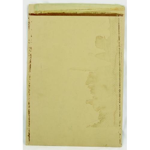 139 - SHIPSTONES ALE ORIGINAL ARTWORK. 16 by 11ins. Card advert for SHIPSTONES/ ALE/ SAME AGAIN! & central...