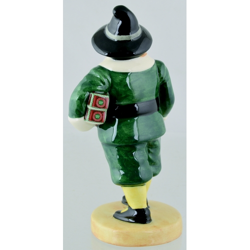 156 - JOHN GINGER FIGURE. 6ins tall. Royal Doulton,  multicoloured figure this being limited edition numbe...