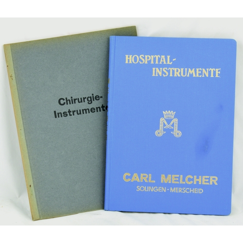 114 - MEDICAL INSTRUMENT CATALOGUES. By Car Mercher & Chirirgie, fully illustrated....