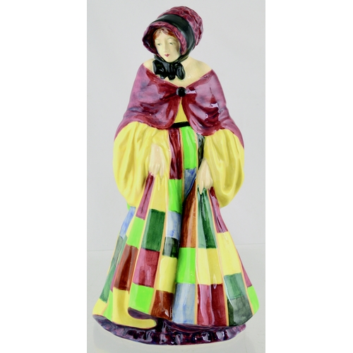 268 - EARLY ROYAL DOULTON FIGURINE. 10ins tall.  HN 564 'The Parsons Daughter' (hand painted round undersi...