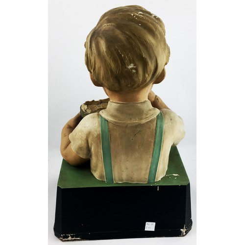 7 - MACFARLANE LANGS BISCUITS ADVERTISING FIGURE. 19ins tall. A very impressive large size shop counter ...