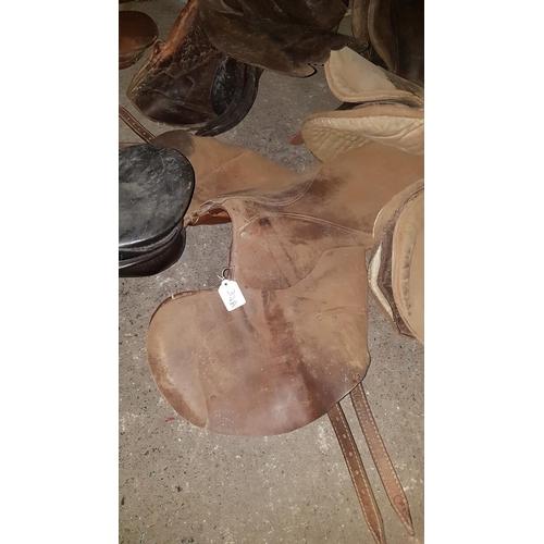 32a - A Leather Saddle....