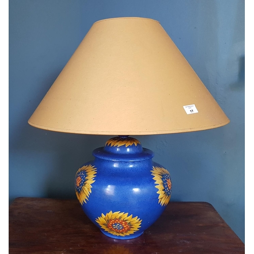 17 - A modern Table Lamp....