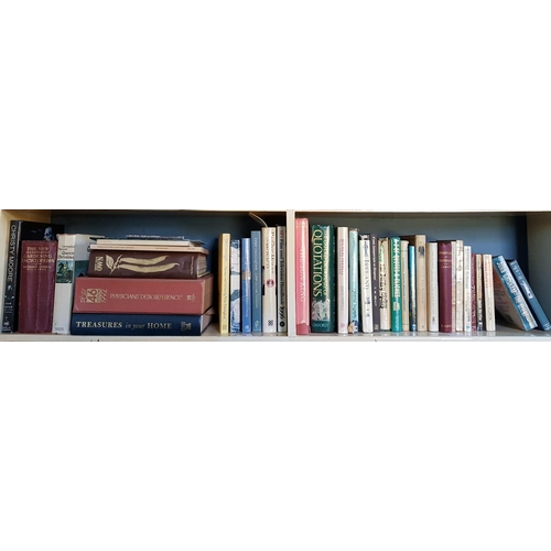 35 - A quantity of Irish and other interest Books on two shelves....