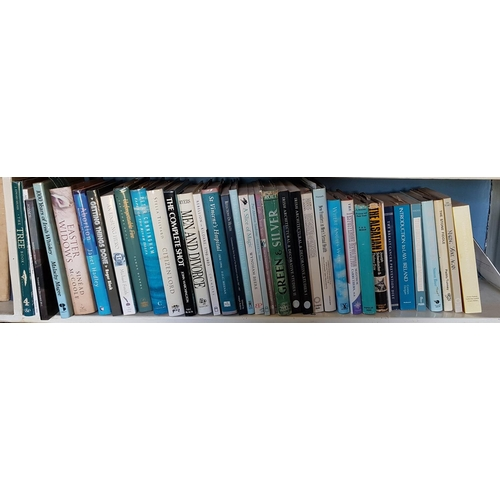 40 - A quantity of Volumes on three shelves....