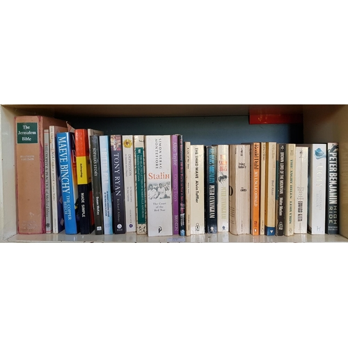 45 - A quantity of Irish and other Booklets and Books on two shelves....