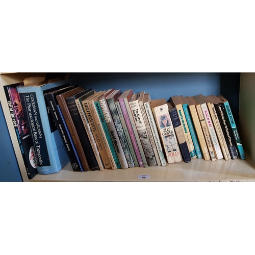 46 - 'Ronnie', the story of Ronnie Drew along with other Books in two shelves....