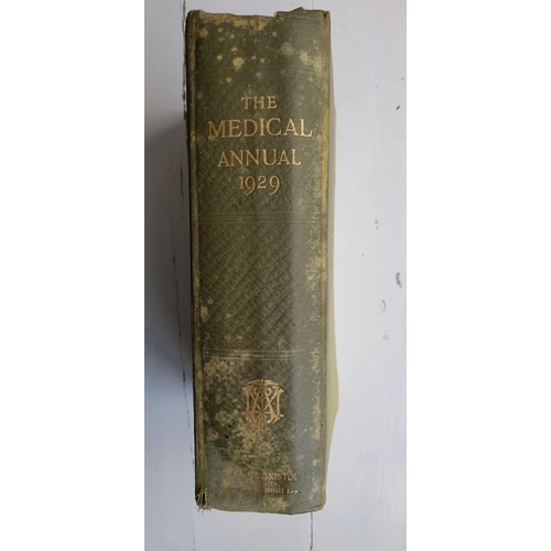 56 - 'The Modern Physician' by Dr Andrew Wilson 1912 in four volumes along with 'The Medical Annual' from...