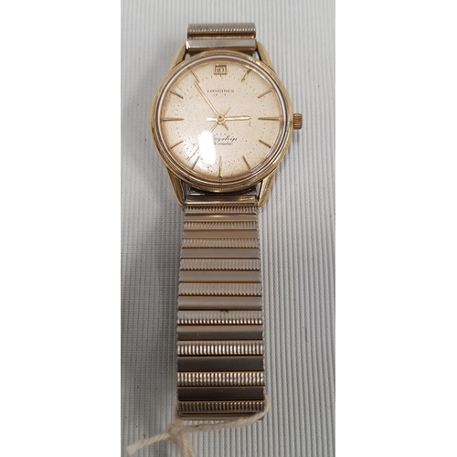 149 - A Longines flagship Automatic Stainless Steel Gentleman's Wristwatch....