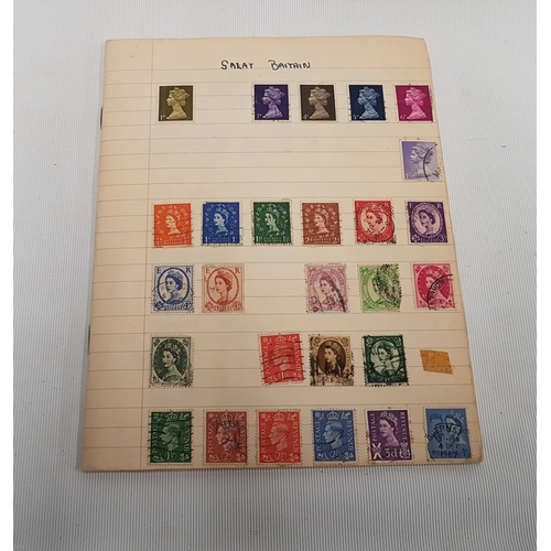 187 - A large quantity of Stamps in multi folders etc....