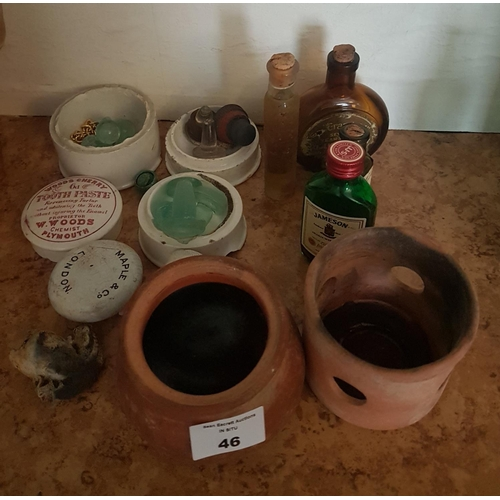 46 - A quantity of old Pottery etc....