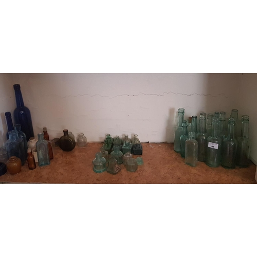 48 - A good quantity of 19th Century and earlier Bottles....