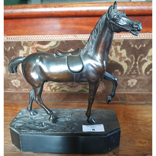 5 - A very good Cast Bronze of a Horse....