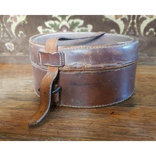 6 - A quantity of Collars in a Leather Case....