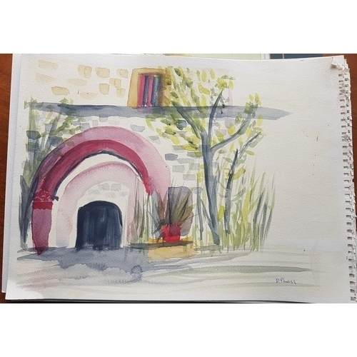 20 - A quantity of Watercolours by D Phelan etc....