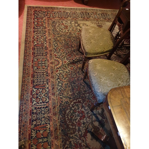 2a - A large green ground Carpet with multi borders....