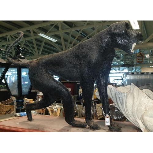 11 - A Taxidermy style prop of a Baboon. (1) (4)....
