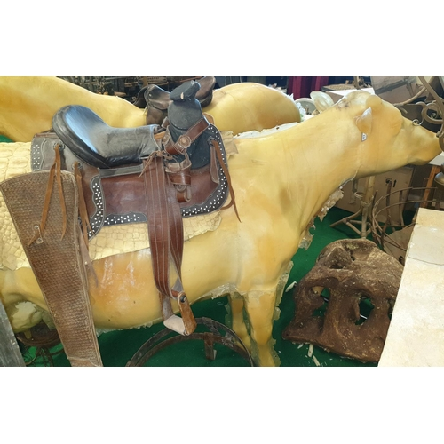13 - A prop of a life size Cow. (1) 7/8....
