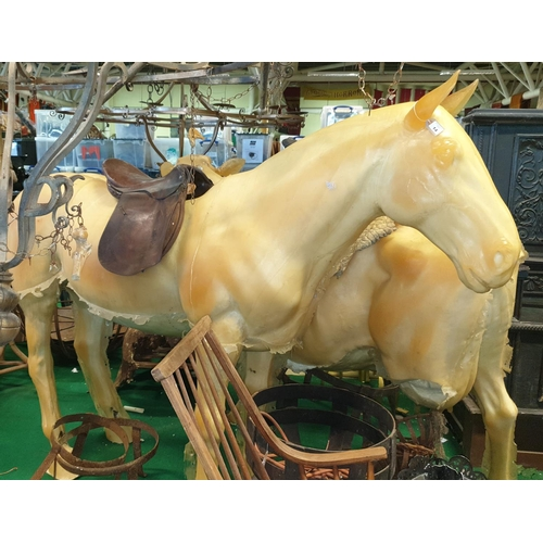 14 - A prop of a life size of a Horse. (1) 7/8....