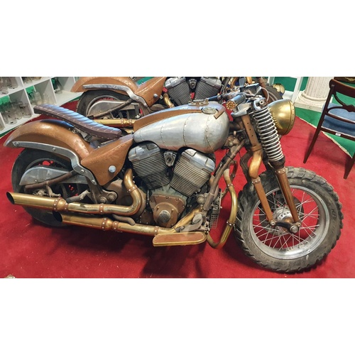 001 - SOME FEATURED LOTS. Lot 5012. SUNNY IS PLAYED BY DANIEL WU. Sunny's Motorbike, Custom built motorbik...
