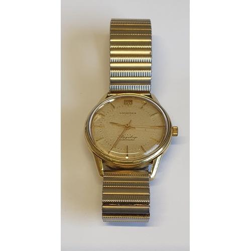 12 - A Longines Flagship Automatic Wrist Watch....