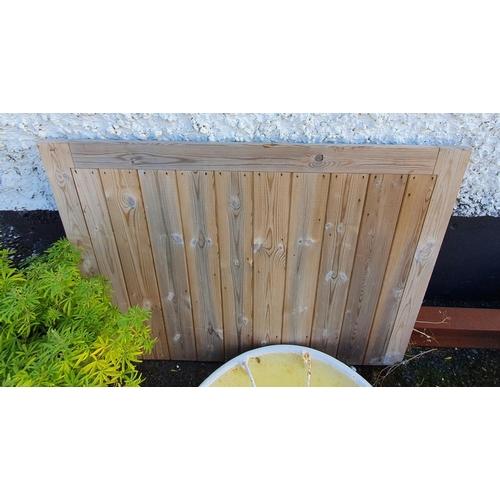 37 - A small Garden Gate. 125w x 92 H cms....