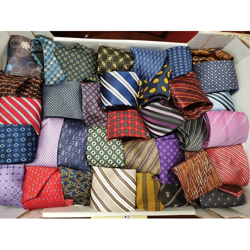 12 - A large quantity of Silk and other Ties....