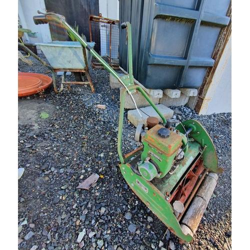 42 - A vintage Lawnmower....
