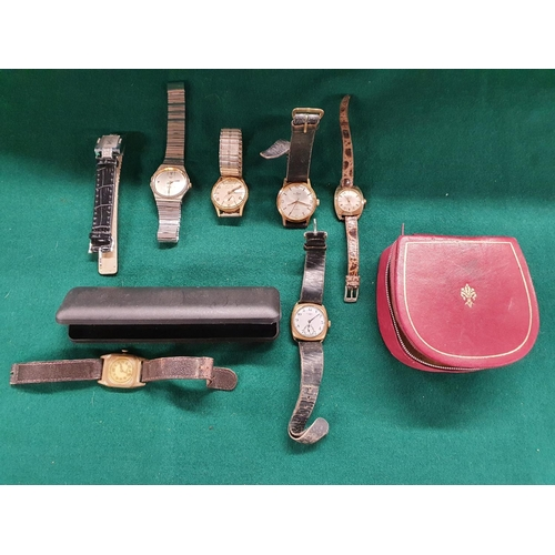 7 - A selection of Watches to include Zenith Aloga White Star and other watches....