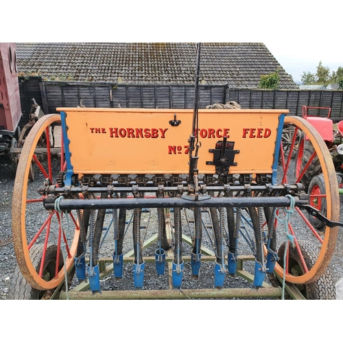420 - An 1887 Hornsby Force Feed No 7 Corn Drill.