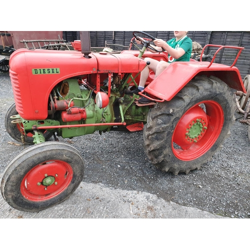421 - A 1957 Styer Tractor.