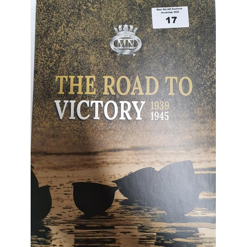 17 - A folio of comemerative Coins ' The Road To Victory 1939 - 1945 ' a set of seven coins with the cent...