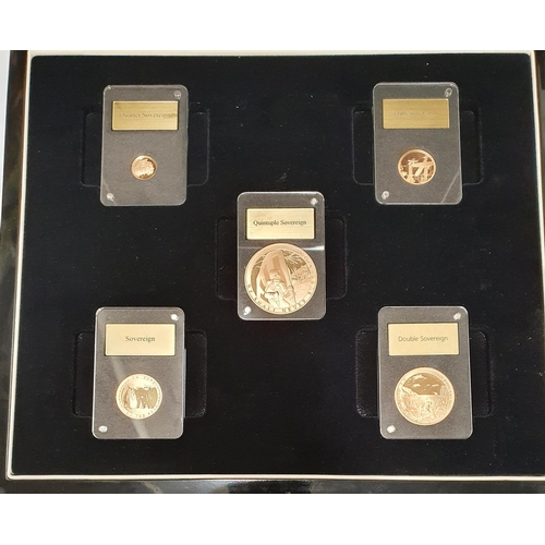 22 - A fantastic set of Dublin Mint Commemerative 22ct gold coin collection for D-Day 75 anniversary ' Op...