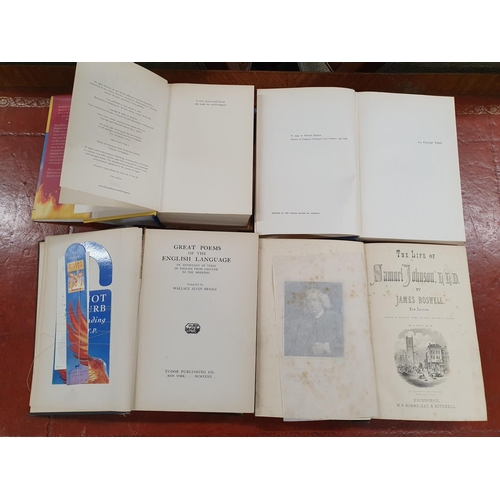 60 - James Joyce by Richard Ellman 1959 along with a first Edition of Harry Potter and the Order Of The P...