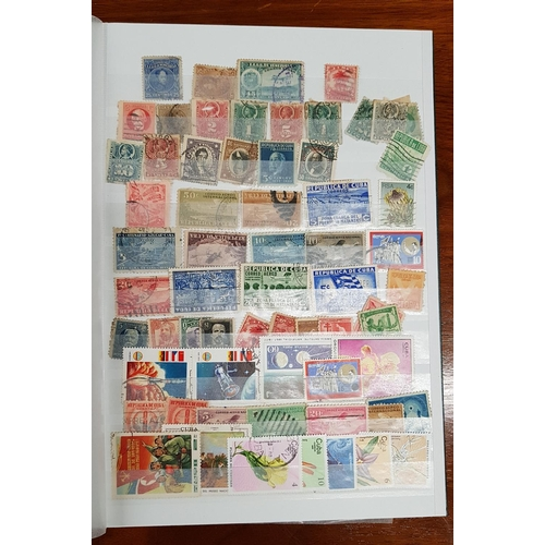 107 - A Stock Book containing Stamps from South America and Europe along with a Stock Book containing Stam...