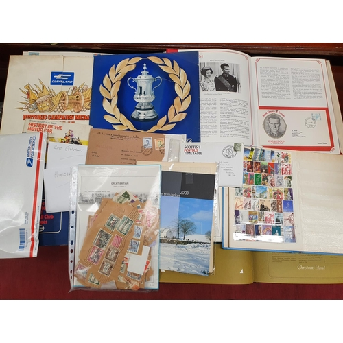 102 - 102 A large quantity of European Stamps, Irish and other countries in stock books along with First D...